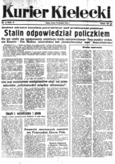 Kurier Kielecki, 1944, nr 85