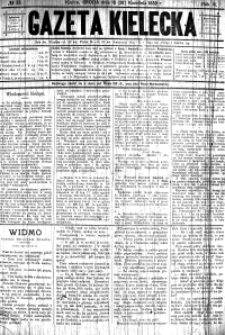 Gazeta Kielecka, 1880, R.11, nr 1