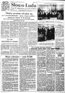 Słowo Ludu : organ Komitetu Wojewódzkiego Polskiej Zjednoczonej Partii Robotniczej, 1954, R.6, nr 29
