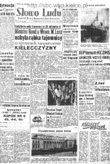 Słowo Ludu : organ Komitetu Wojewódzkiego Polskiej Zjednoczonej Partii Robotniczej, 1957, R.9, nr 252
