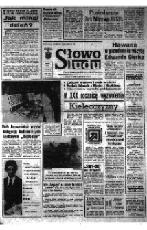 Słowo Ludu : organ Komitetu Wojewódzkiego Polskiej Zjednoczonej Partii Robotniczej, 1975, R.XXVI, nr 273