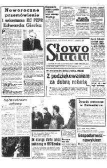 Słowo Ludu : organ Komitetu Wojewódzkiego Polskiej Zjednoczonej Partii Robotniczej, 1977, R.XXIX, nr 1