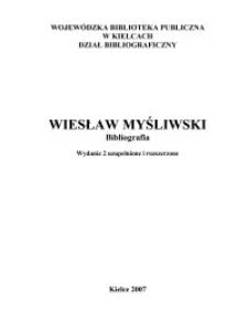 Wiesław Myśliwski : bibliografia