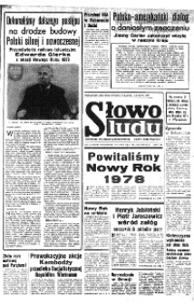Słowo Ludu : organ Komitetu Wojewódzkiego Polskiej Zjednoczonej Partii Robotniczej, 1960, R.12, nr 298