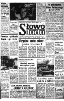 Słowo Ludu : organ Komitetu Wojewódzkiego Polskiej Zjednoczonej Partii Robotniczej, 1981, R.XXXII, nr 38