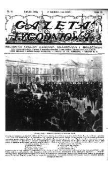 Gazeta Tygodniowa. Poświęcona sprawom religijnym, oświatowym i społecznym,1933, R.4, nr 21