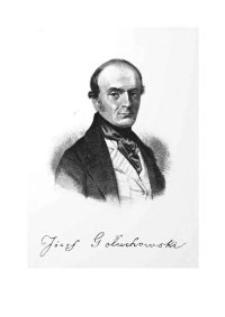Józef Gołuchowski (1797-1858) w 150. rocznicę śmierci. Bibliografia