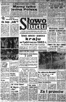 Słowo Ludu : organ Komitetu Wojewódzkiego Polskiej Zjednoczonej Partii Robotniczej, 1982, R.XXIII, nr 145