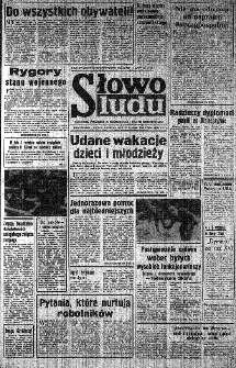 Słowo Ludu : organ Komitetu Wojewódzkiego Polskiej Zjednoczonej Partii Robotniczej, 1982, R.XXIII, nr 170