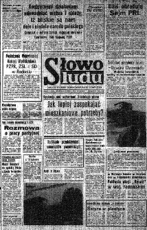 Słowo Ludu : organ Komitetu Wojewódzkiego Polskiej Zjednoczonej Partii Robotniczej, 1982, R.XXIII, nr 182
