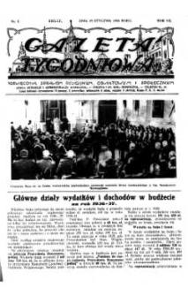Gazeta Tygodniowa. Poświęcona sprawom religijnym, oświatowym i społecznym,1936, R.7, nr 3