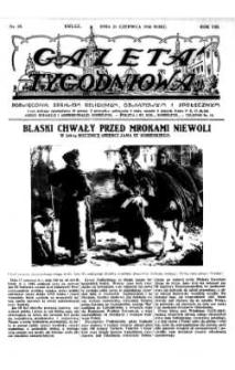Gazeta Tygodniowa. Poświęcona sprawom religijnym, oświatowym i społecznym,1936, R.7, nr 25
