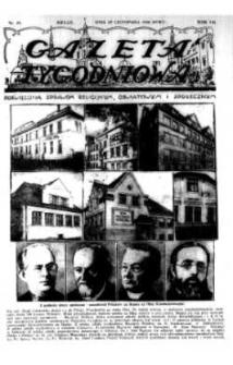 Gazeta Tygodniowa. Poświęcona sprawom religijnym, oświatowym i społecznym,1936, R.7, nr 48