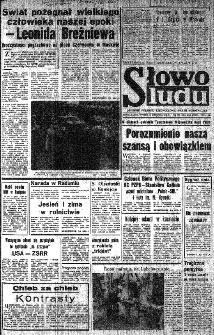 Słowo Ludu : organ Komitetu Wojewódzkiego Polskiej Zjednoczonej Partii Robotniczej, 1982, R.XXIII, nr 225