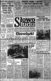 Słowo Ludu : organ Komitetu Wojewódzkiego Polskiej Zjednoczonej Partii Robotniczej, 1982, R.XXIII, nr 240