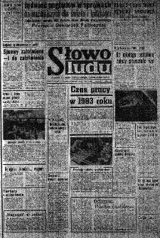 Słowo Ludu : organ Komitetu Wojewódzkiego Polskiej Zjednoczonej Partii Robotniczej, 1983, R.XXXV, nr 4