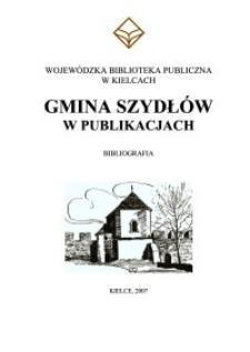 Gmina Szydłów w publikacjach : bibliografia