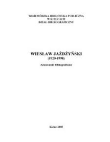 Wiesław Jażdżyński (1920-1998) : zestawienie bibliograficzne
