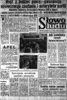 Słowo Ludu : organ Komitetu Wojewódzkiego Polskiej Zjednoczonej Partii Robotniczej, 1984, R.XXXV, nr 19