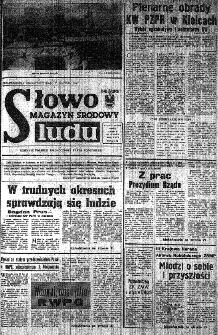 Słowo Ludu : organ Komitetu Wojewódzkiego Polskiej Zjednoczonej Partii Robotniczej, 1984, R.XXXV, nr 21