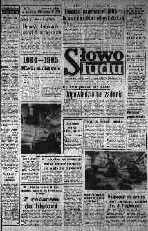 Słowo Ludu : organ Komitetu Wojewódzkiego Polskiej Zjednoczonej Partii Robotniczej, 1984, R.XXXV, nr 307