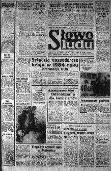 Słowo Ludu : organ Komitetu Wojewódzkiego Polskiej Zjednoczonej Partii Robotniczej, 1985, R.XXXVI, nr 11
