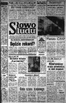 Słowo Ludu : organ Komitetu Wojewódzkiego Polskiej Zjednoczonej Partii Robotniczej, 1985, R.XXXVI, nr 21