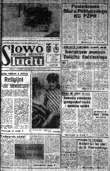 Słowo Ludu : organ Komitetu Wojewódzkiego Polskiej Zjednoczonej Partii Robotniczej, 1985, R.XXXVI, nr 25