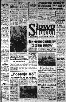 Słowo Ludu : organ Komitetu Wojewódzkiego Polskiej Zjednoczonej Partii Robotniczej, 1985, R.XXXVI, nr 88
