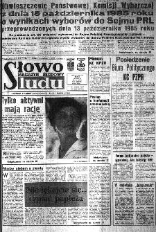 Słowo Ludu : organ Komitetu Wojewódzkiego Polskiej Zjednoczonej Partii Robotniczej, 1985, R.XXXVI, nr 242