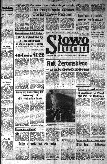 Słowo Ludu : organ Komitetu Wojewódzkiego Polskiej Zjednoczonej Partii Robotniczej, 1985, R.XXXVI, nr 268