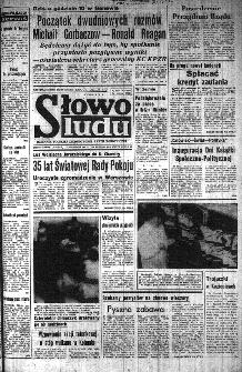 Słowo Ludu : organ Komitetu Wojewódzkiego Polskiej Zjednoczonej Partii Robotniczej, 1985, R.XXXVI, nr 269
