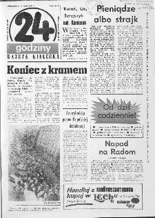 Gazeta Kielecka: 24 godziny, 1990, R.2, nr 1 (21)