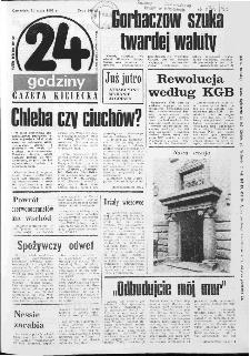 Gazeta Kielecka: 24 godziny, 1990, R.2, nr 14 (34)