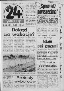 Gazeta Kielecka: 24 godziny, 1990, R.2, nr 30 (50)
