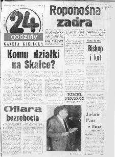 Gazeta Kielecka: 24 godziny, 1990, R.2, nr 53 (73)