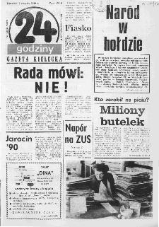 Gazeta Kielecka: 24 godziny, 1990, R.2, nr 58 (78)