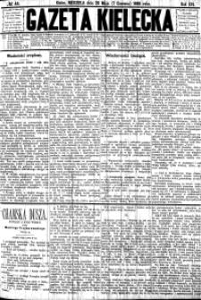 Gazeta Kielecka, 1885, R.16, nr 1