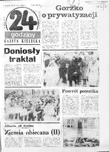 Gazeta Kielecka: 24 godziny, 1990, R.2, nr 131 (151)