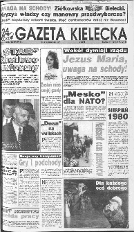 Gazeta Kielecka, 1991, R.3, nr 168