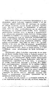 Pamiętnik Koła Kielczan 1925-1927