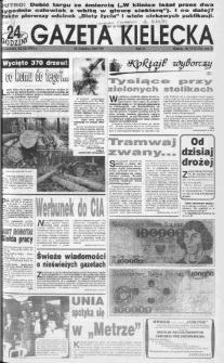 Gazeta Kielecka, 1991, R.3, nr 190