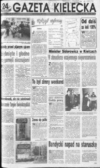 Gazeta Kielecka, 1991, R.3, nr 203