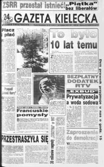 Gazeta Kielecka, 1991, R.3, nr 240