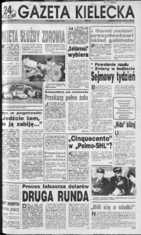 Gazeta Kielecka, 1991, R.3, nr 242