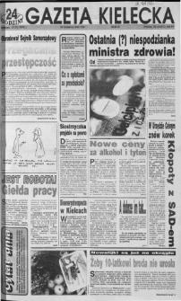Gazeta Kielecka: 24 godziny, 1992, R.4, nr 4