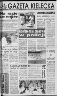 Gazeta Kielecka: 24 godziny, 1992, R.4, nr 5