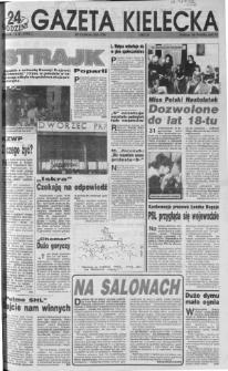 Gazeta Kielecka: 24 godziny, 1992, R.4, nr 9