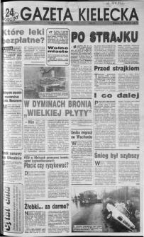 Gazeta Kielecka: 24 godziny, 1992, R.4, nr 10