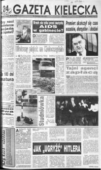 Gazeta Kielecka: 24 godziny, 1992, R.4, nr 13